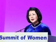 Destaca vicepresidenta vietnamita papel de las mujeres en la cuarta revolución industrial