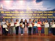 Ciudad Ho Chi Minh facilita operaciones de ONGs