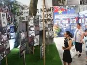 """Exhiben en Hanoi """"Diario de la Paz"""" sobre historia de luchas del pueblo"""