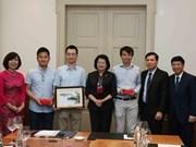 Vicepresidenta vietnamita sostiene reunión con intelectuales compatriotas en Suiza
