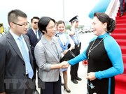 Inicia Presidenta de la Asamblea Nacional de Vietnam visita oficial a China