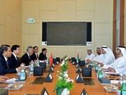 Vietnam y EAU decididos a aumentar comercio a 10 mil millones de dólares