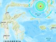 Levantan alerta de tsunami tras sismo de magnitud 7,1 en Indonesia