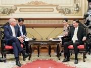 Muestran empresas suizas interés en desarrollar urbes inteligentes en Vietnam