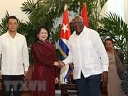 Reafirma vicepresidenta de Vietnam que su país mantendrá intercambio de experiencias con Cuba