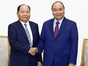 Premier recibe al ministro de Interior de Laos