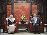 Acuerdan China y Malasia fortalecer nexos bilaterales