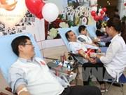 Despliegan en Vietnam programa de donación voluntaria de sangre 2019