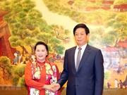 Estimula máxima legisladora de Vietnam inversiones chinas en sectores de alta tecnología