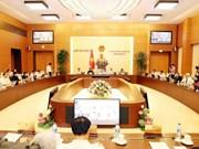 Sesionará próximamente sesión del Comité Permanente del Parlamento de Vietnam
