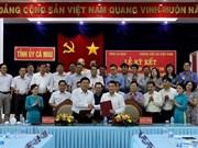 VNA promueve cooperación de información con provincia de Ca Mau