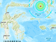 Indonesia no decreta alerta de tsunami tras terremoto de magnitud 7,3