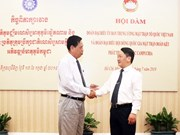 Intensifican cooperación entre Frentes de la Patria de Vietnam y Camboya
