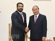 Recibe primer ministro de Vietnam al embajador de Panamá saliente