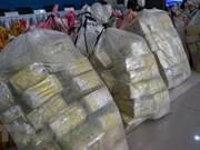 Decomisan en Tailandia una tonelada de metanfetamina