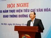 Aplican sanción disciplinaria contra exviceministro de Transporte de Vietnam