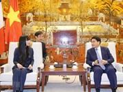 Proyecta Hanoi intensificar cooperación con Francia en infraestructura y desarrollo urbano