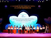 Premian en Vietnam a las mejores empresas turísticas