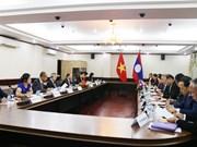 Efectúan cuarta Consulta Política Vietnam - Laos