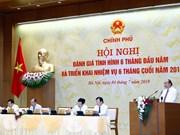 Insta Gobierno vietnamita al cumplimiento de las metas socioeconómicas para 2019