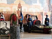 Rinden en Moscú homenaje póstumo a dos amigos rusos del pueblo vietnamita