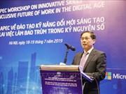 Conferencia APEC promueve habilidades de trabajo innovadoras en la era digital