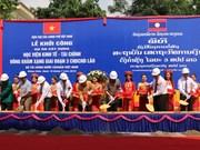Asiste Vietnam a Laos en construcción de Academia de Economía y Finanzas