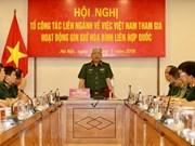 Ampliará Vietnam su participación en fuerzas del mantenimiento de paz de la ONU