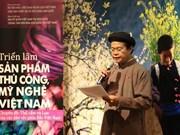 Presentan Vietnam sus productos de brocado y seda en Corea del Sur