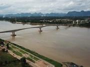 El río Mekong en provincia tailandesa está en un nivel más bajo en casi 100 años