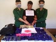 Arrestan en Vietnam a jefe de una organización de narcotráfico transnacional