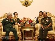 Vietnam y Camboya profundizan cooperación militar
