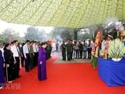 Asiste máxima legisladora vietnamita al entierro de excombatientes caídos en misión internacional