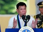 Promete presidente filipino continuar la lucha contra el narcotráfico y la corrupción