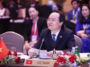 Propone ministro vietnamita construir un ambiente educativo feliz y armónico