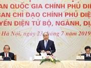 Insta primer ministro de Vietnam a poner en operaciones el Portal Nacional de Servicios Públicos
