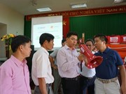 Entrega la USAID a provincia vietnamita dispositivos de alerta temprana para desastres naturales