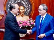 Promueven colaboración entre Ciudad Ho Chi Minh y Singapur en desarrollo urbano