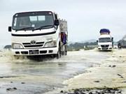 Evacúan en Myanmar a más de nueve mil hogares por inundaciones
