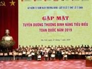 Honran en Vietnam a inválidos de guerra