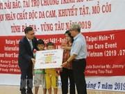Asiste el club Rotary Taipei a las víctimas del Agente Naranja/Dioxina