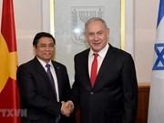 Proyectan Vietnam e Israel  fortalecer relaciones de amistad y cooperación