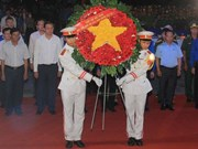 Efectúan en Vietnam numerosas actividades en homenaje a mártires nacionales