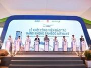 Inician construcción del Centro de Entrenamiento Aeronáutico de Bamboo Airways