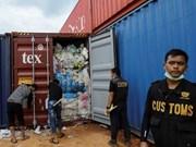 Refuerza Indonesia acciones contra  importaciones de residuos plásticos