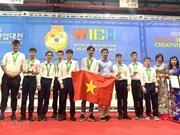 Triunfan alumnos vietnamitas en Olimpiada Mundial de Creatividad e Invención