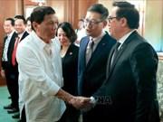 Delegación del Partido Comunista de Vietnam visita Filipinas