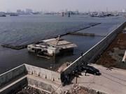 Proyecta Indonesia construir muro de contención marítimo