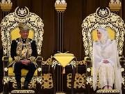 Coronan al  sultán de Pahang como nuevo rey de Malasia