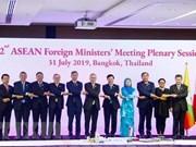 Inauguran en Tailandia la Reunión 52 de Cancilleres de la  ASEAN